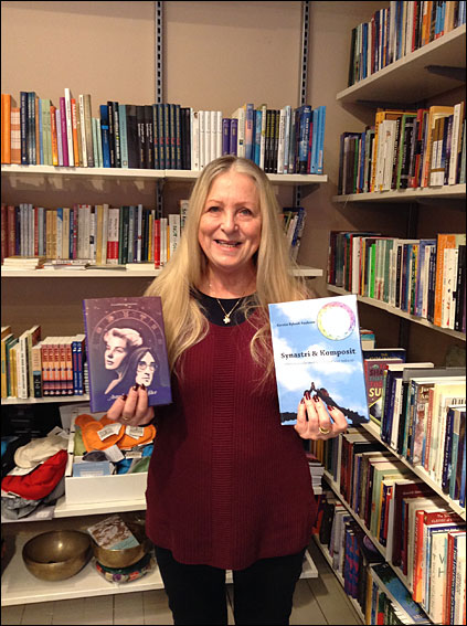 Kerstin Bylund i Vattumannens bokhandel