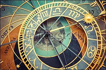 Zodiak och klocka